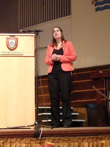 Speaker Melanie Gibson Barton