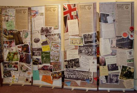 Nottinghamshire History panels