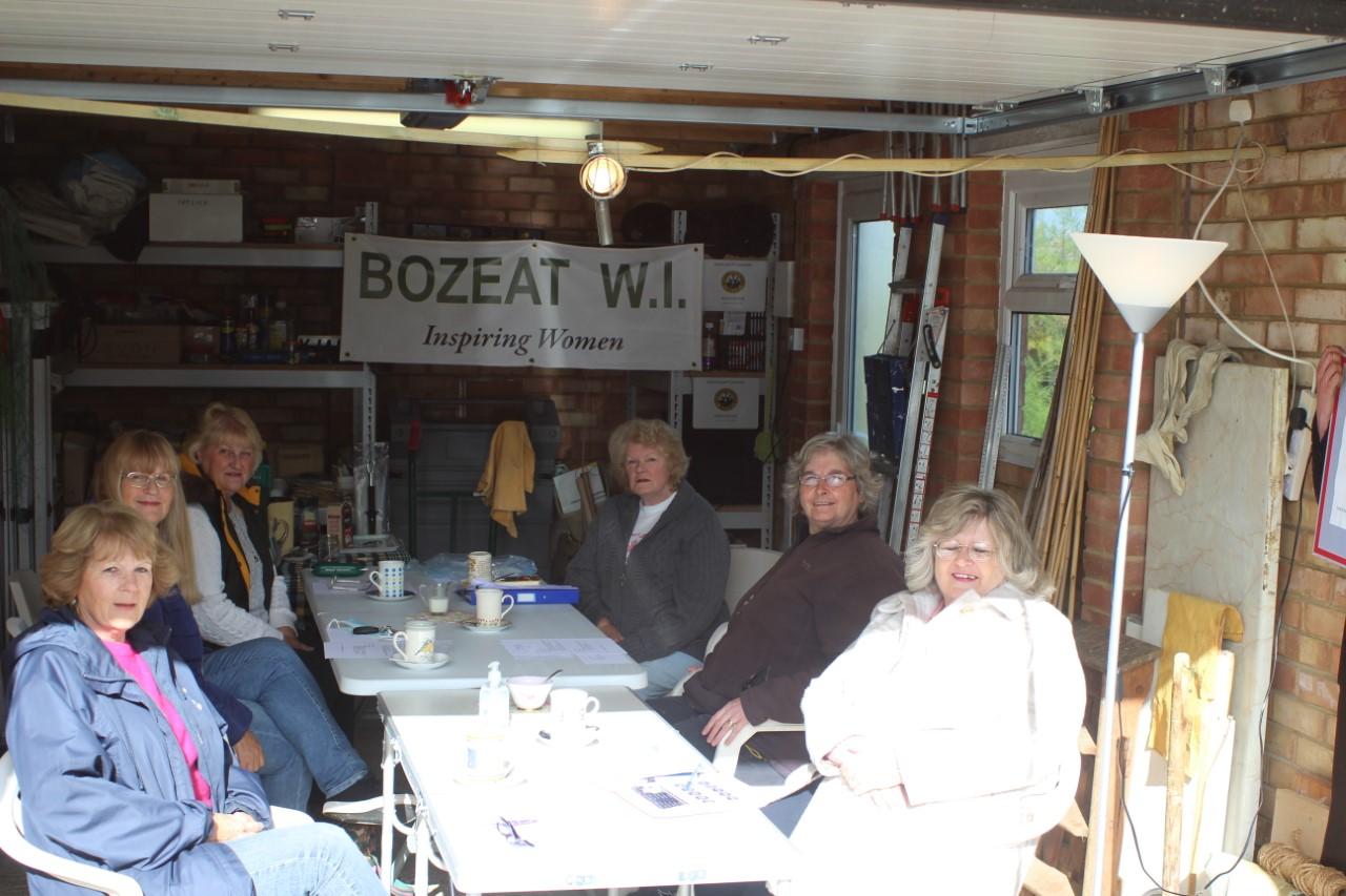 Shivering members of Bozeat committee