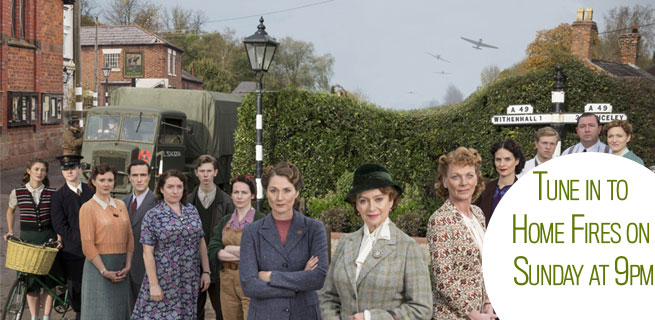 Watch the WI in action on ITV1's Home Fires