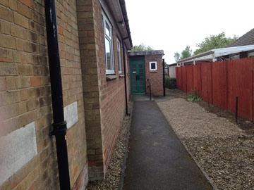 Methodist chapel side entrance