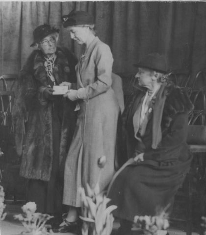 Evelyn Suffield with others