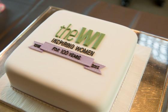 WI Centenary Cake