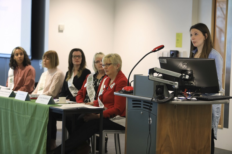 Panel discussion at the WI Million Women Rise pre-march event