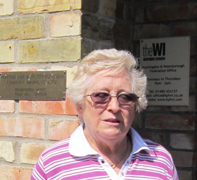 Phyllis Brookes, New Vice Chairman