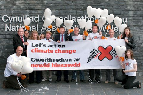 SCC Cymru members with Assembly Members at launch of the For the Love of... campaign in Wales