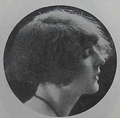 The WIs Inez Jenkins in 1930