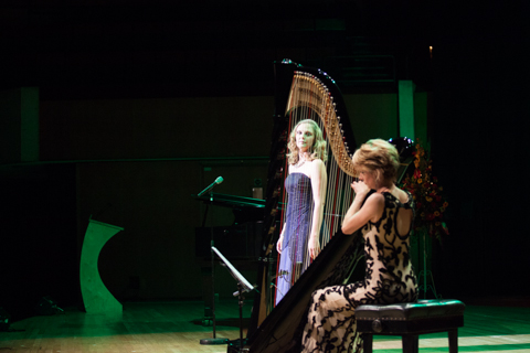 Catrin Finch and Elin Manahan Thomas