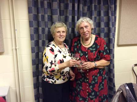 Sue %26 Gloria have been members for 50 years