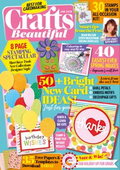 Crafts Beautiful cover - Jan 2018
