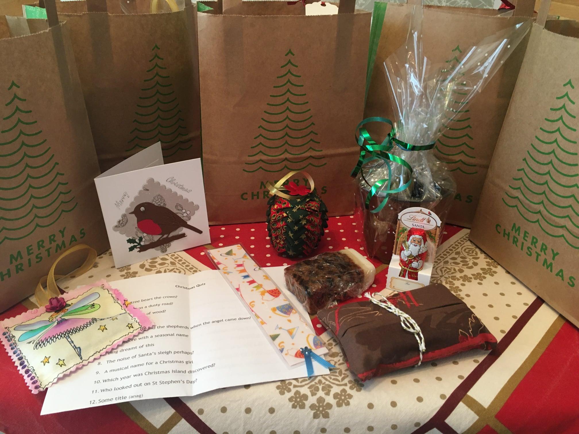 Christmas 2020 goody bag