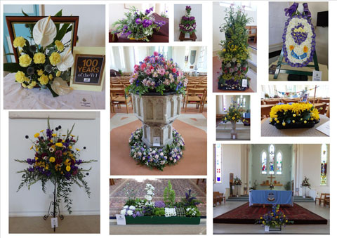 Centenary Flower Festival in St. Paul's Church