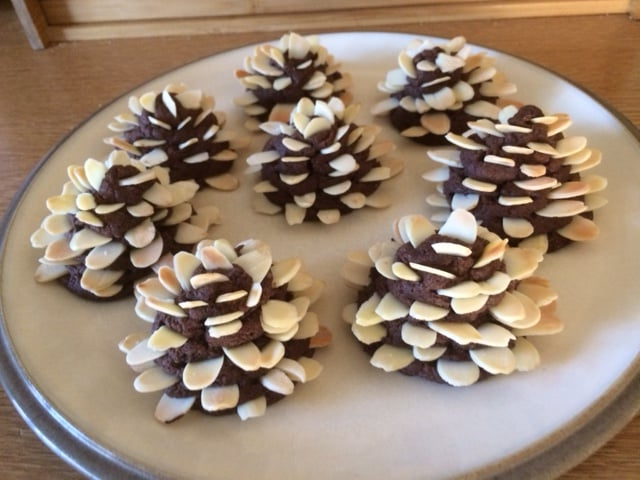 Festive Cookies from recipe in WI Life