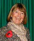 Chrissie Booth, Derbyshire Federation Chairman