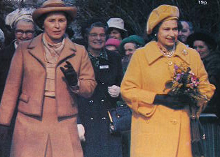 The Queen opens the Home Economics Centre at Denman College