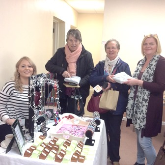Great Doddington WI held a chocolate coffee morning to support local charity Daylight Centre in Wellingborough