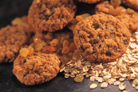 cookie biscuits oats & dried fruit