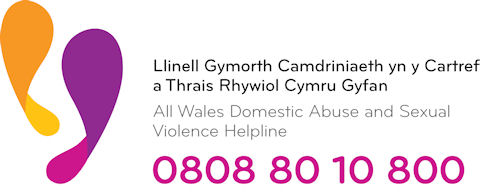 All Wales Domestic Abuse & Sexual Violence Helpline logo