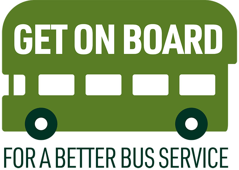 Get on Board Campaign Logo