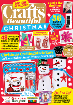 Crafts Beautiful November 2017 issue