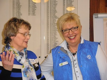 Janet Kirk & Lynne nStubbings