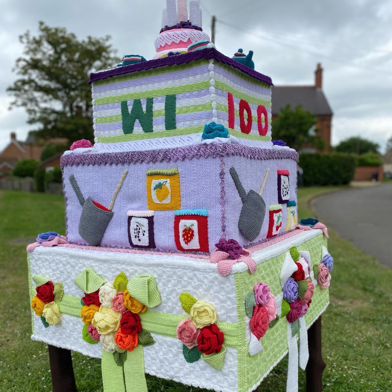 21.06 100th birthday cake