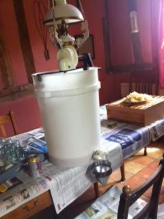 Extractor and Sterilised Jars