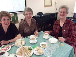 Margaret MacKay with Jean Bates and Judith Leach