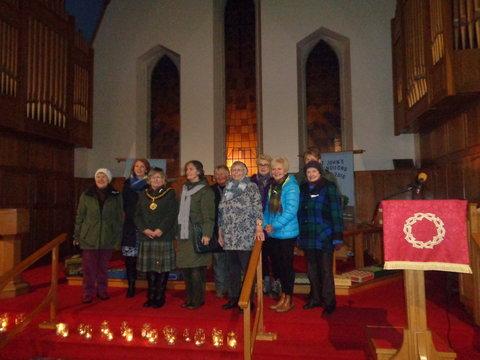 Candlelight vigil in Llandudno