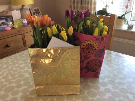 Flowers for Care Home residents