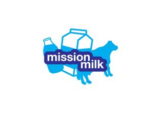 Mission Milk logo