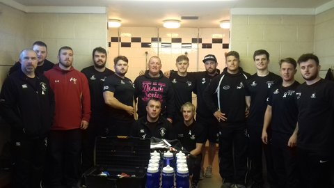 Llandudno RFC supporting the Not in my Name Campaign