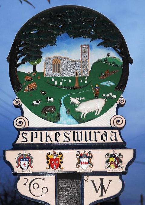 Spixworth Sign