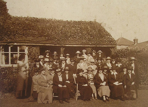 Llanfair, Wales - first WI in the UK