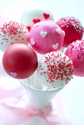 Cake Pops St Valentin