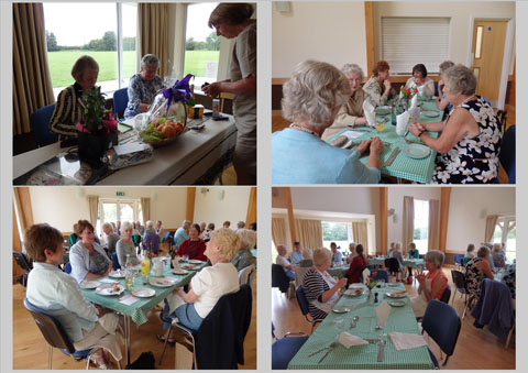 Members enjoying Centenary Lunch
