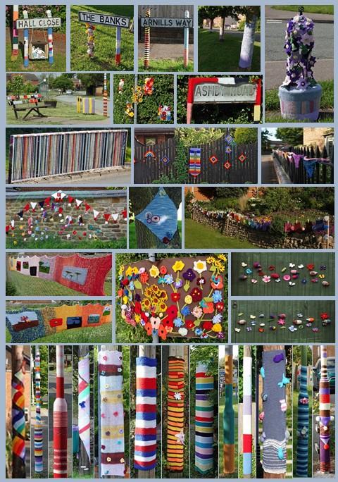 Centenary Yarn Bombing