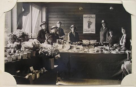 WI Market stall