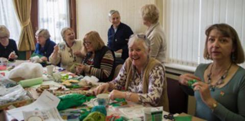 Green hearts workshop in Sir Gar/Carmarthenshire Federation