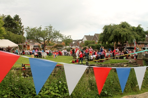 Wonderful Street Party enjoyed by all